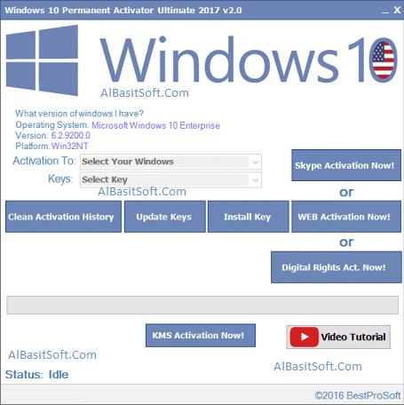 Windows 10 Permanent Activator Ultimate 2020 2.8 ! [Latest] Free Download(AlBasitSoft.Com)