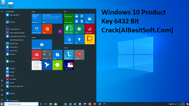 Windows 10 Product Key 6432 Bit Crack(AlBasitSoft.Com)